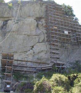 Consolidamento strutturale e miglioramento sismico del castello di canossa