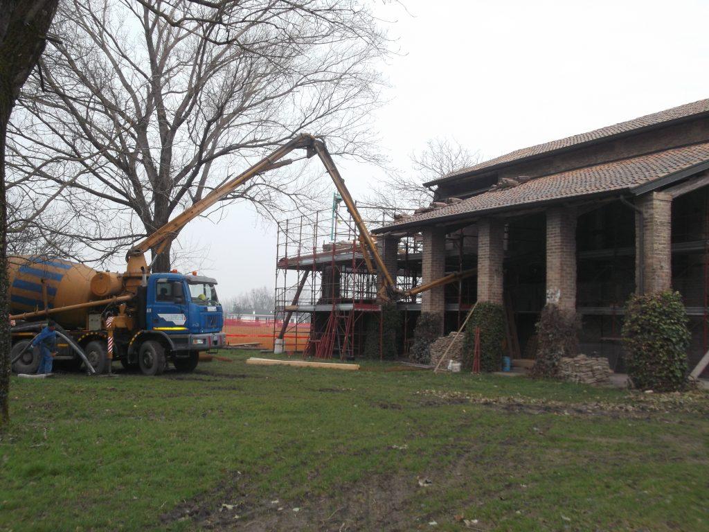 Miglioramento sismico e consolidamento di un'abitazione.
