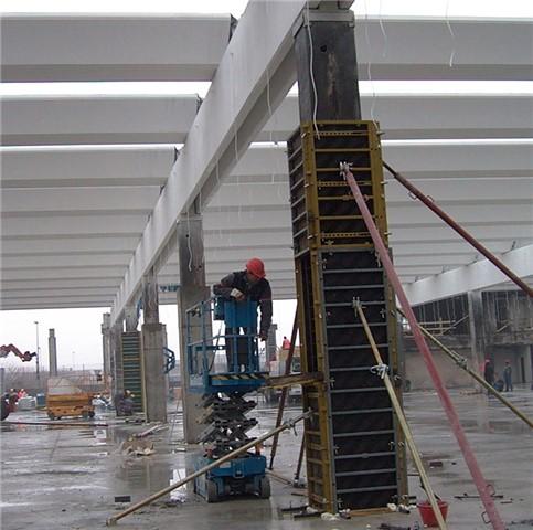 Consolidamento pilastri