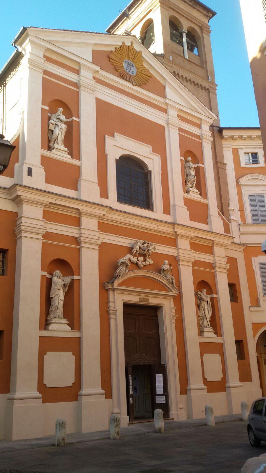 Iton srl esegue interventi di edilizia dopo il terremoto alla chiesa di san barnaba modena.