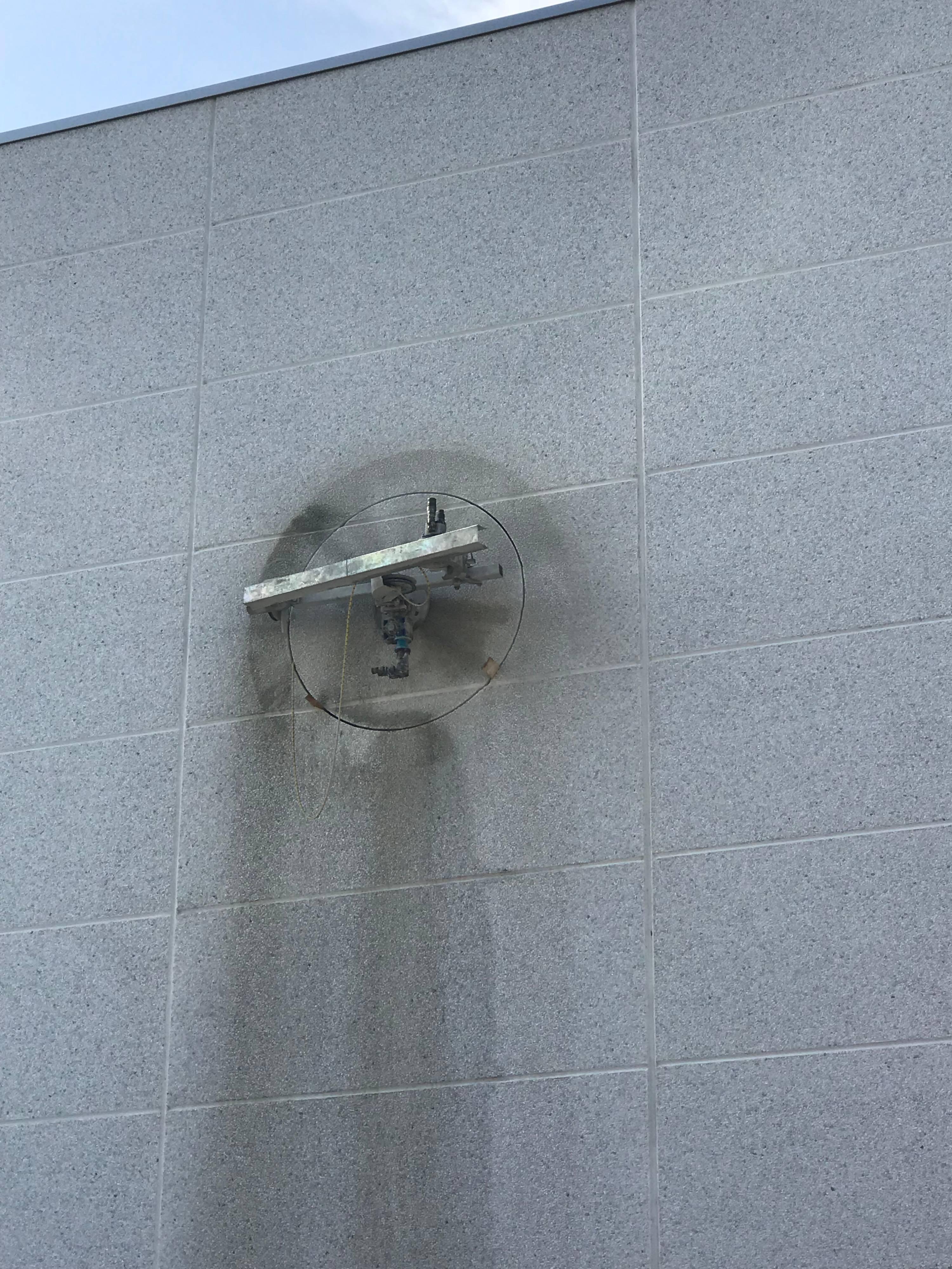Creazione di un vano finestra circolare