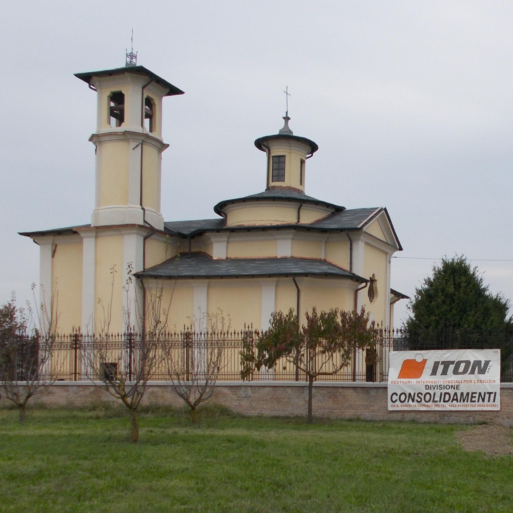 Consolidamento e restauro dell'oratorio di Lentigione (RE) - ITON SRL