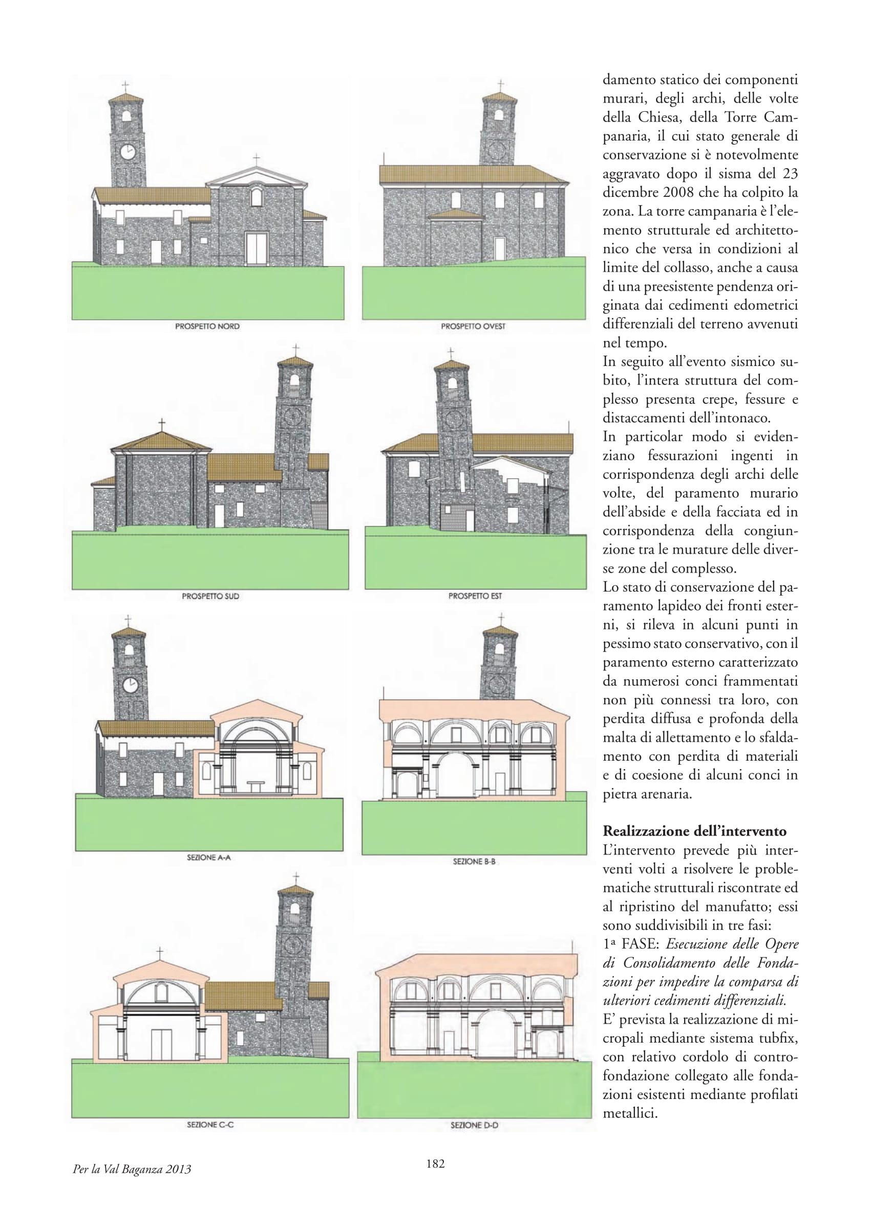Interventi di ristrutturazione nella chiesa di Barbiano (PR) - ITON SRL