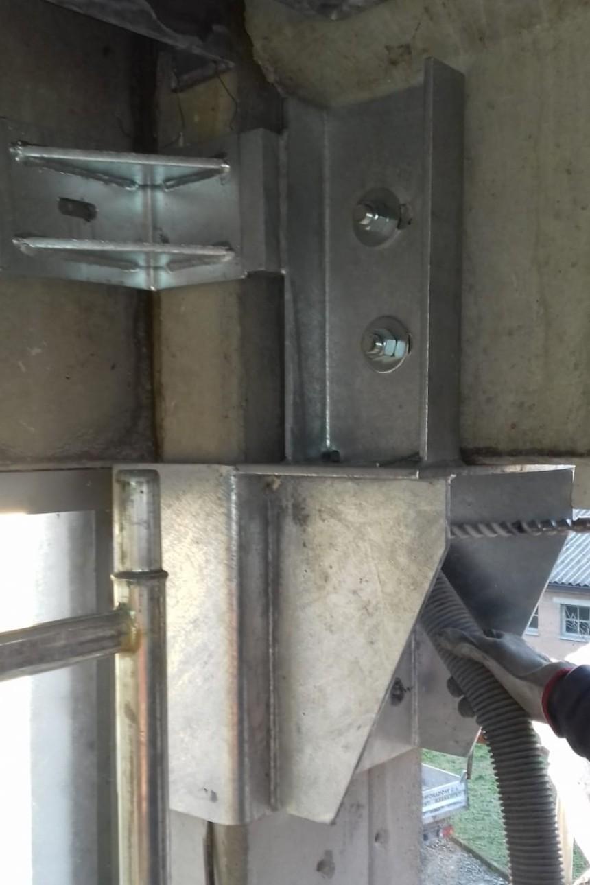 Vincolo trave pilastro con mensola in acciaio - ITON SRL