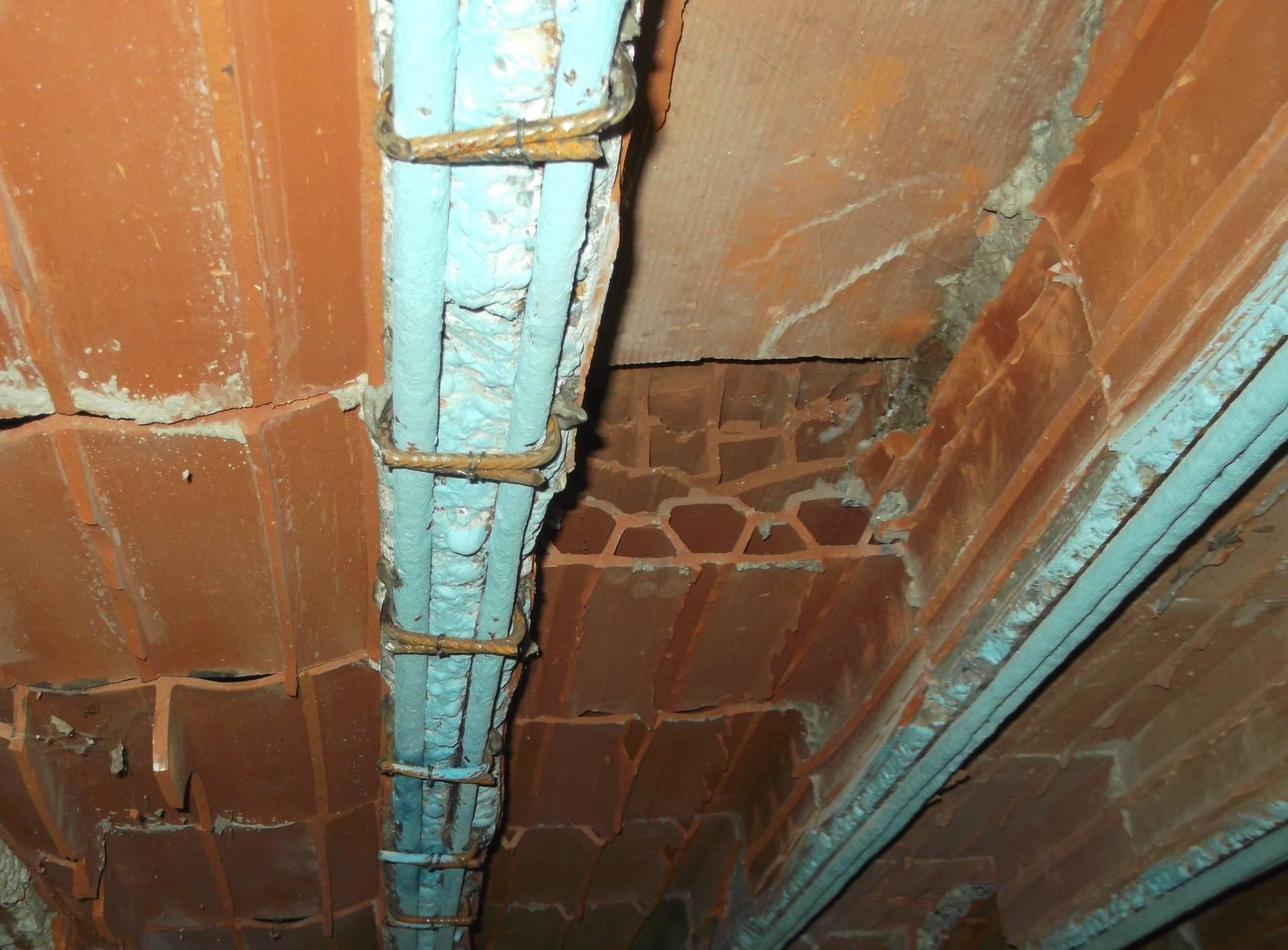 Struttura Di Un Solaio iton srl - antisfondellamento nei solai, coperture e balconi