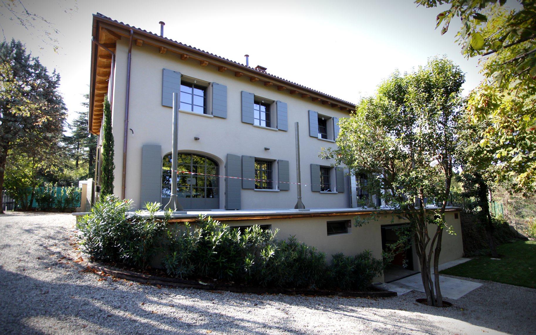 Costruzione nuova abitazione di pregio in San Lorenzo in Collina (BO) - ITON SRL